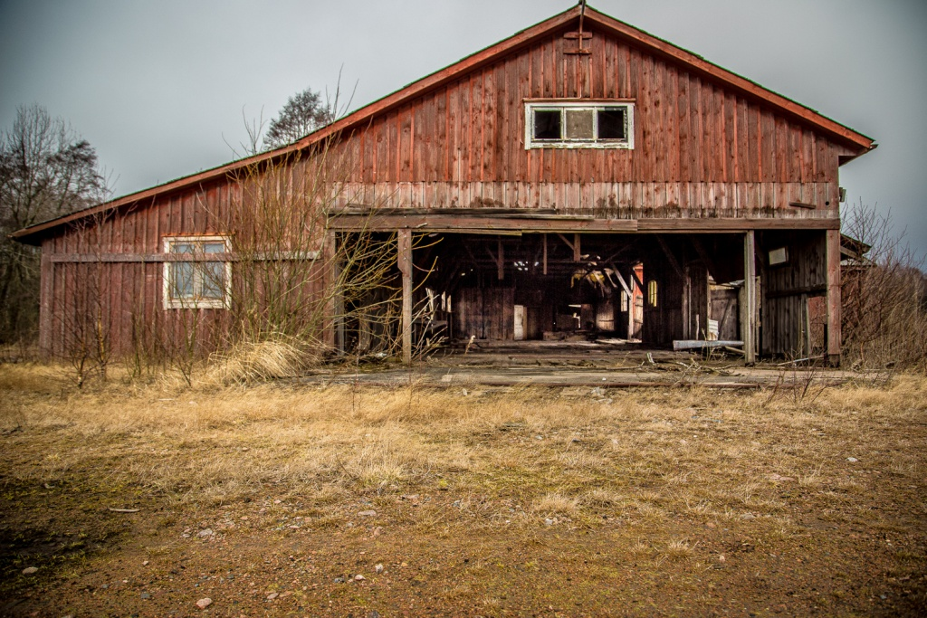 Fotografering av övergivet hus-16