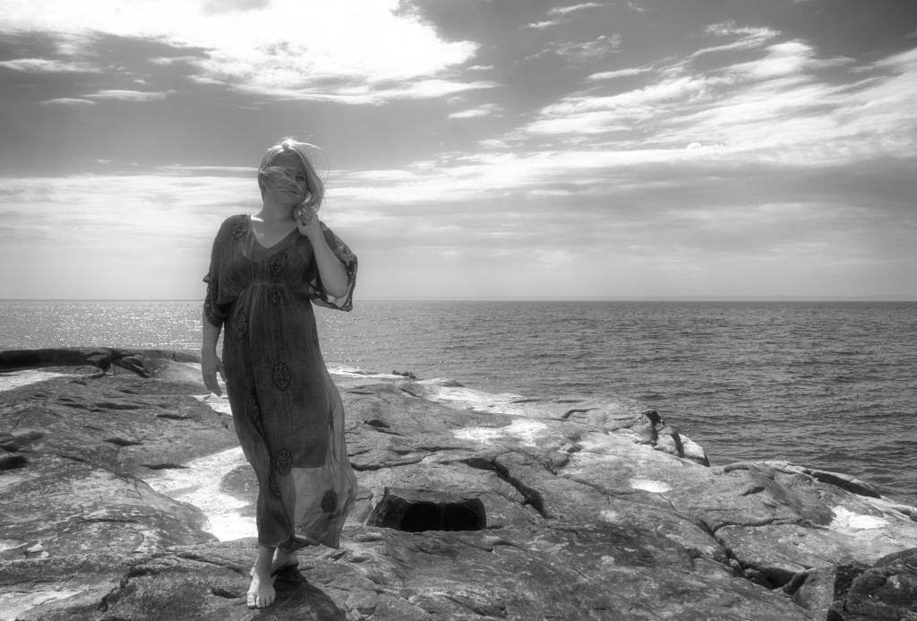 Porträttfotografering Sanna Mendes för Sanna - Yoga & Minfulness