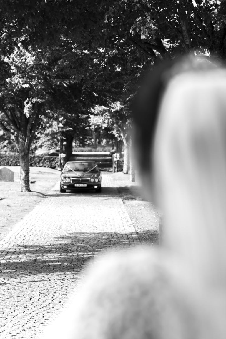 Fotograferar bröllop på ljusterö